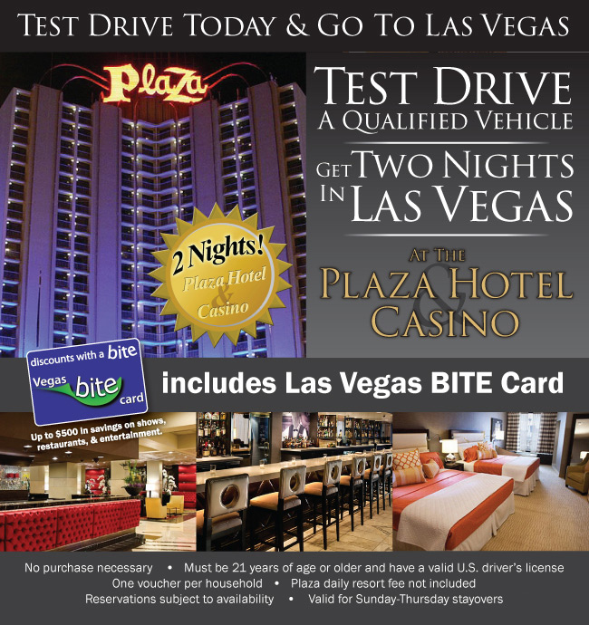 Two Nights At The Plaza Hotel And Casino